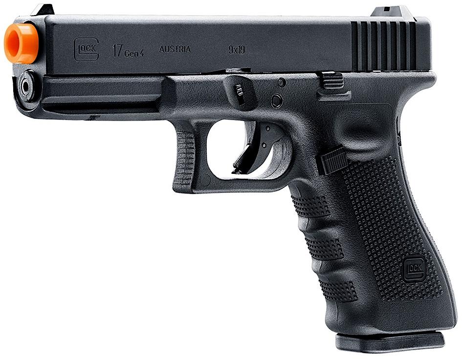 Umarex Glock 17 Gen 4 GBB Airsoft Pistol Left Side Front.jpg