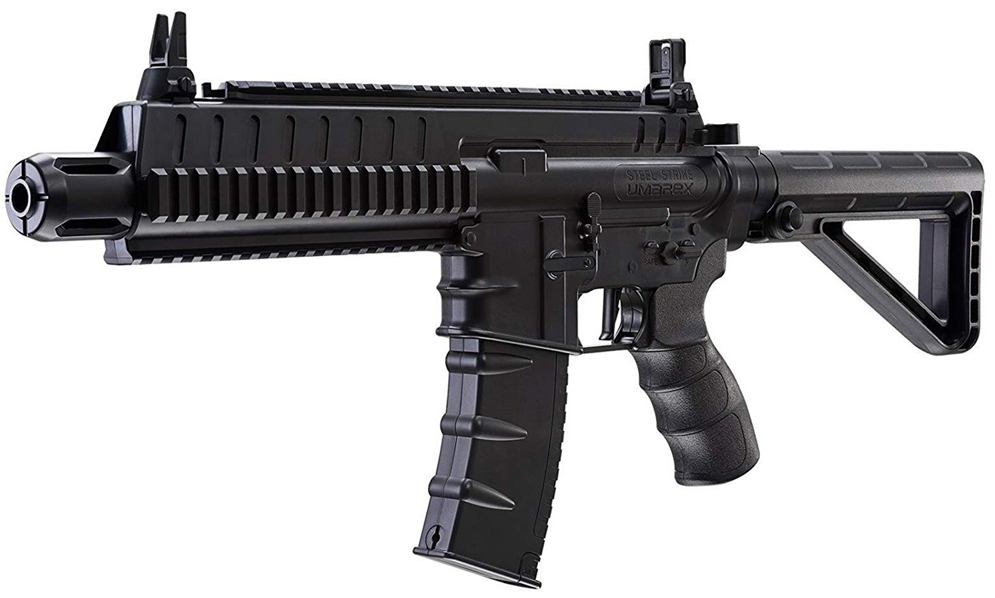 Umarex Steel Strike CO2 Blowback BB Rifle Left Side Front.jpg