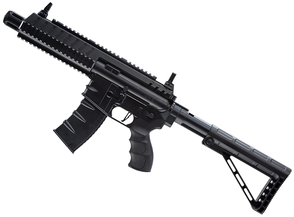 Umarex Steel Strike CO2 Blowback BB Rifle Left Side Angle.png