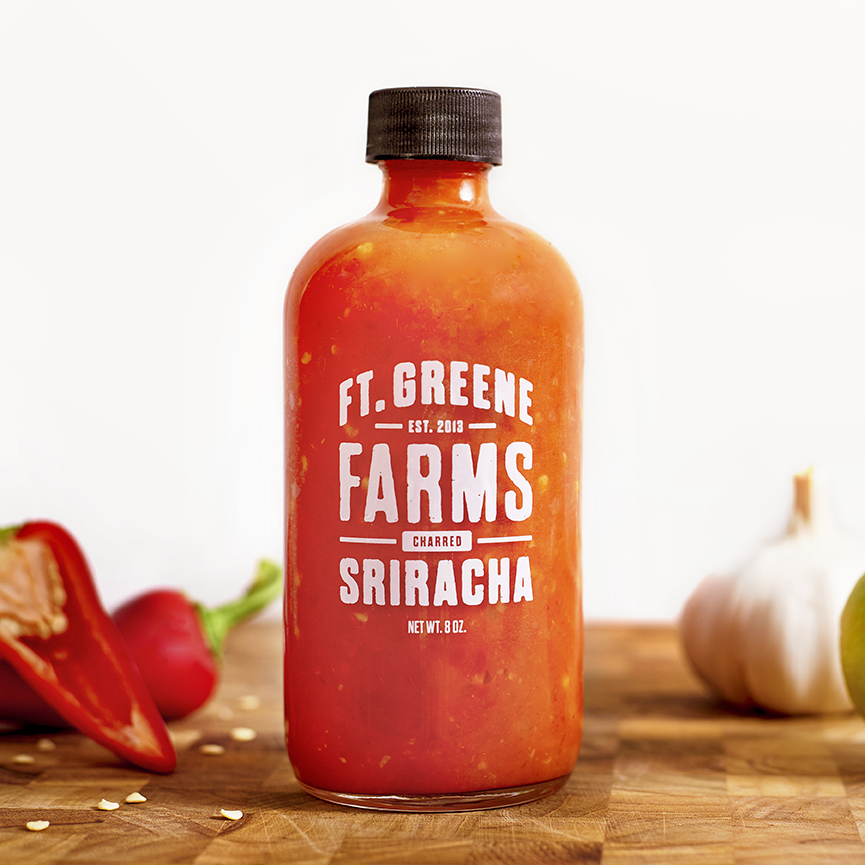Ft. Greene Farms:  Branding, Packaging