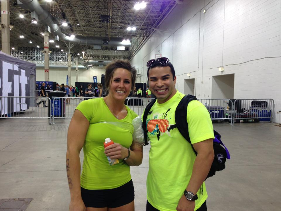 Our very own Jonathan Lopez at the CrossFit Regionals.