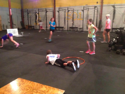 CrossFit Kids up and going!!