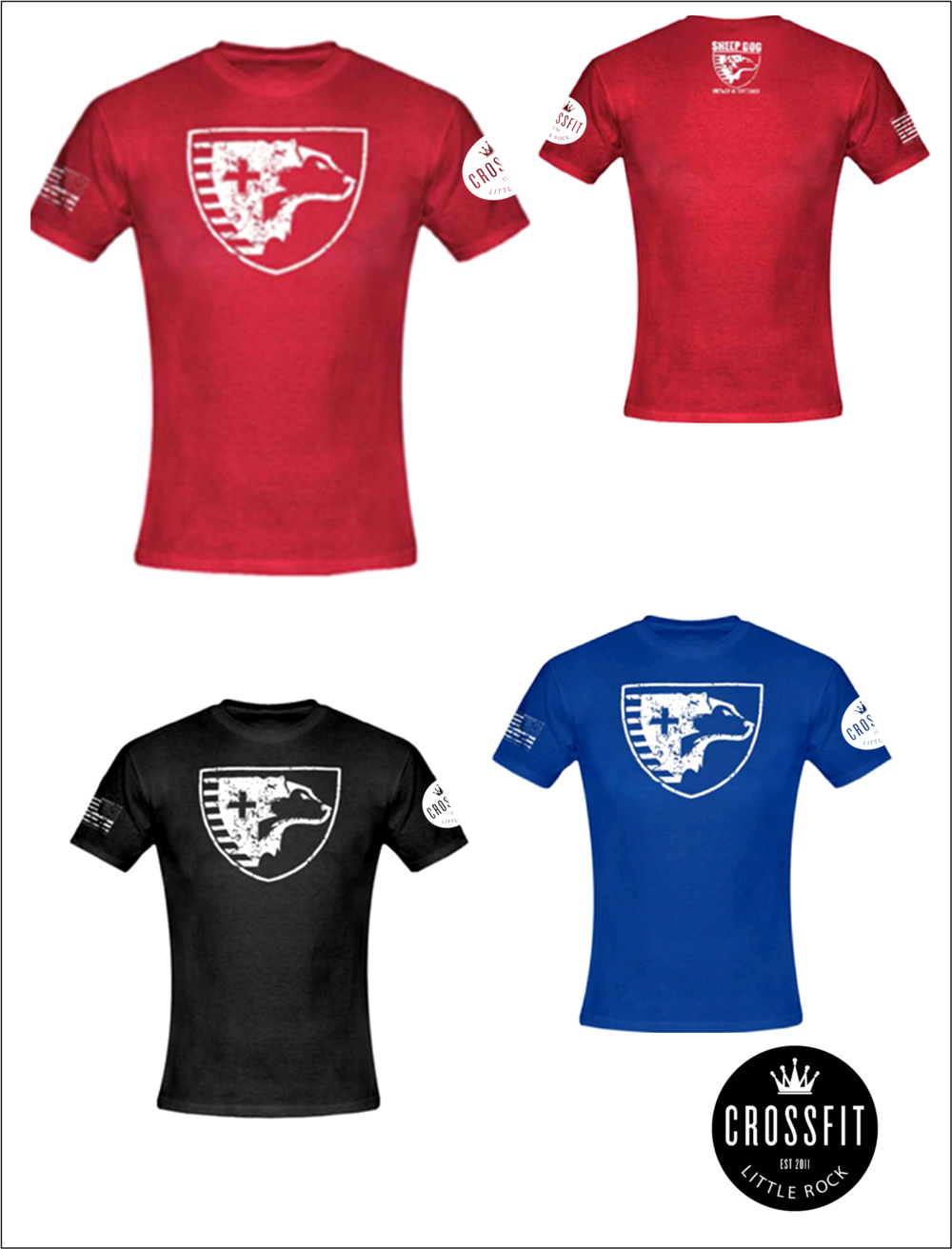 Sheep Dog CrossFit LIttle Rock shirts!!!