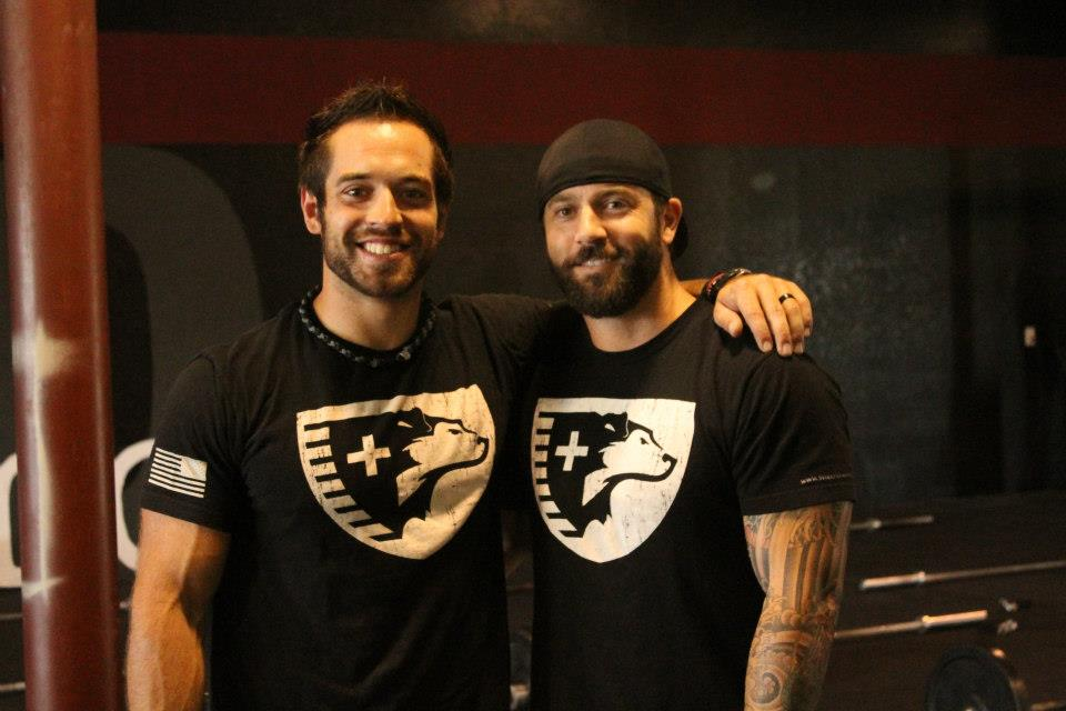 3 Time CrossFit Games Champion and fellow SHEEP DOG - Rich Froning Jr. (former firefighter)