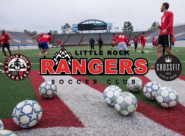 We are excited to announce that CrossFit Little Rock is the official training partner of the @lrrangers ⚽️ We will be training the men's and women's team in preparation for the 2017 NPSL & WPSL season.  Come out and watch Little Rock's team this season!!!