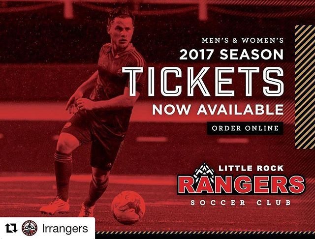 Grab your @lrrangers season tickets today!!! ⚽️