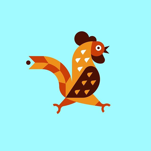 Grain Rooster 🌾 🐔 (v2)  #natekoehler #design #illustration #illustrator #vector #art #vectorart #wisconsin #madison #beer #logo #icon