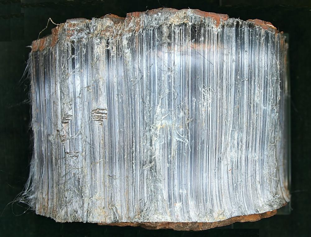 "Crocidolite. ""Krokydolith - Mineralogisches Museum Bonn (7385)"" by © Raimond Spekking"