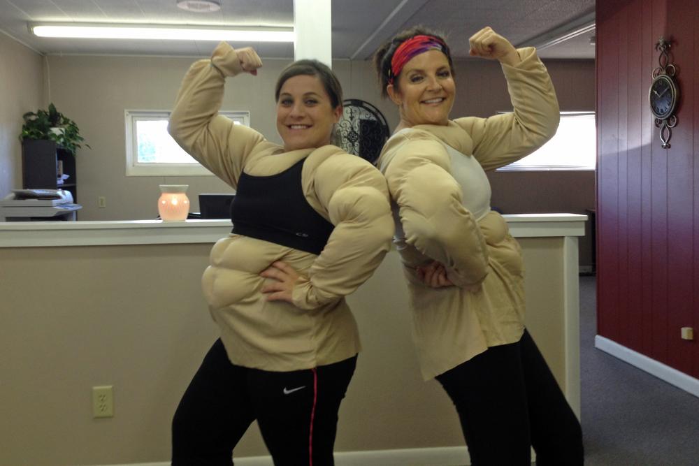 The Kearney branch got BUFF! Jodie & Lorri