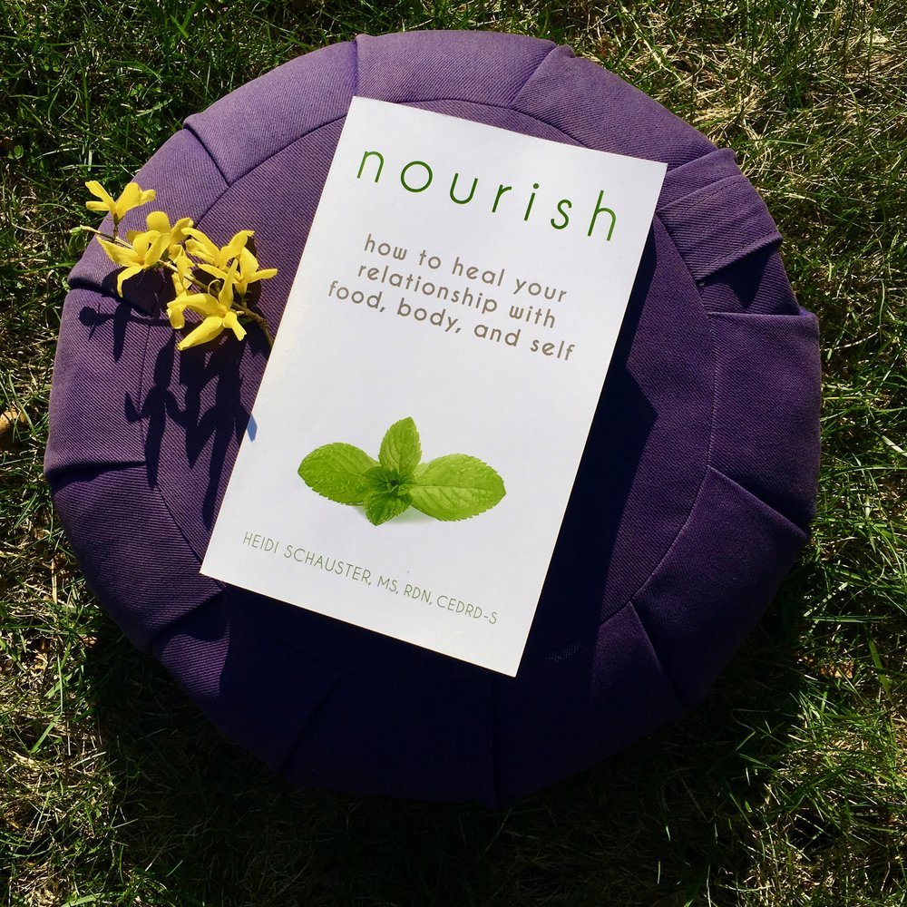 Nourish Book Heidi Schauster
