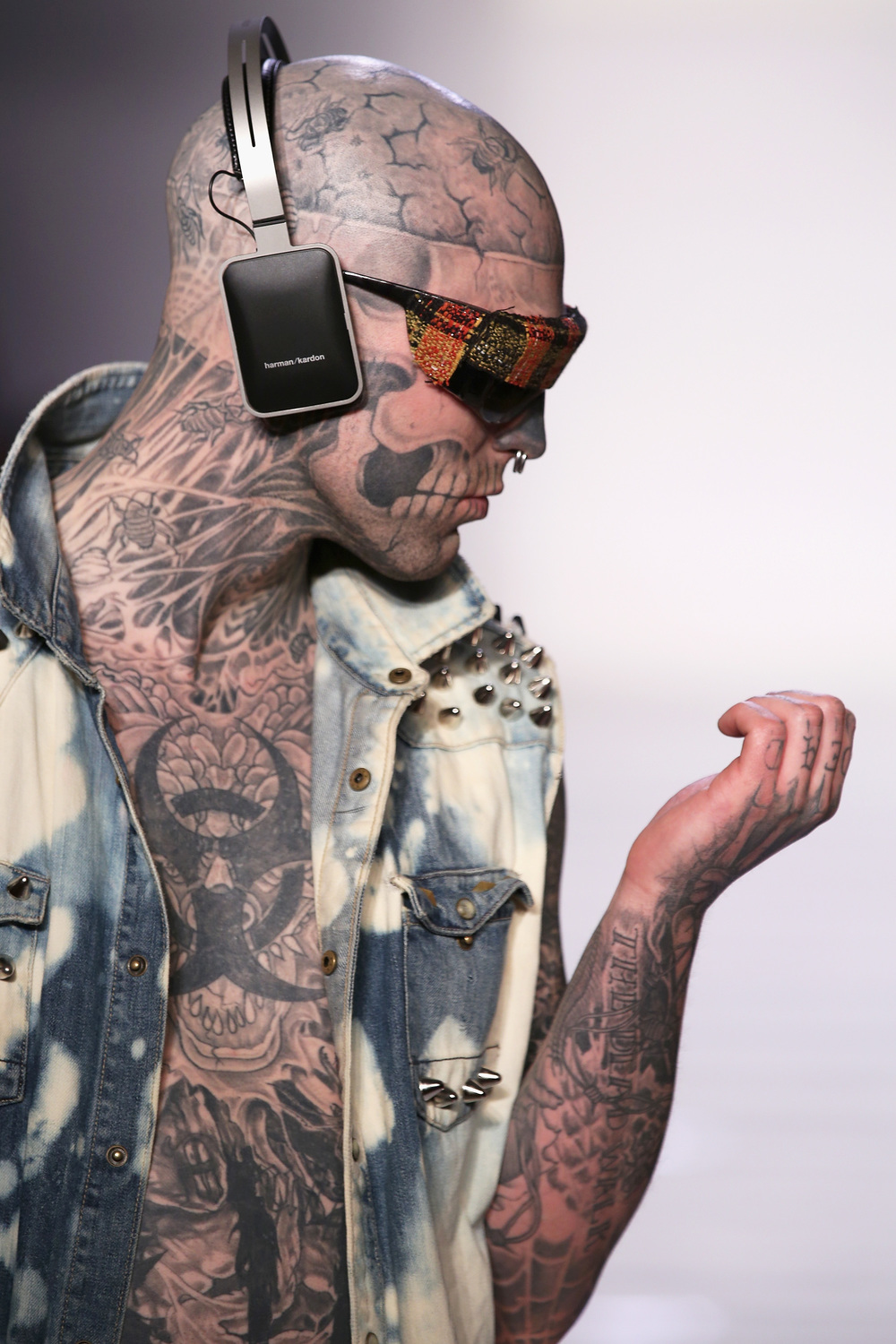 "Rick Genest ""Zombie Boy"" for T&T 2013"