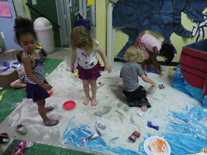 The Pre-K Classroom is an ever evolving space