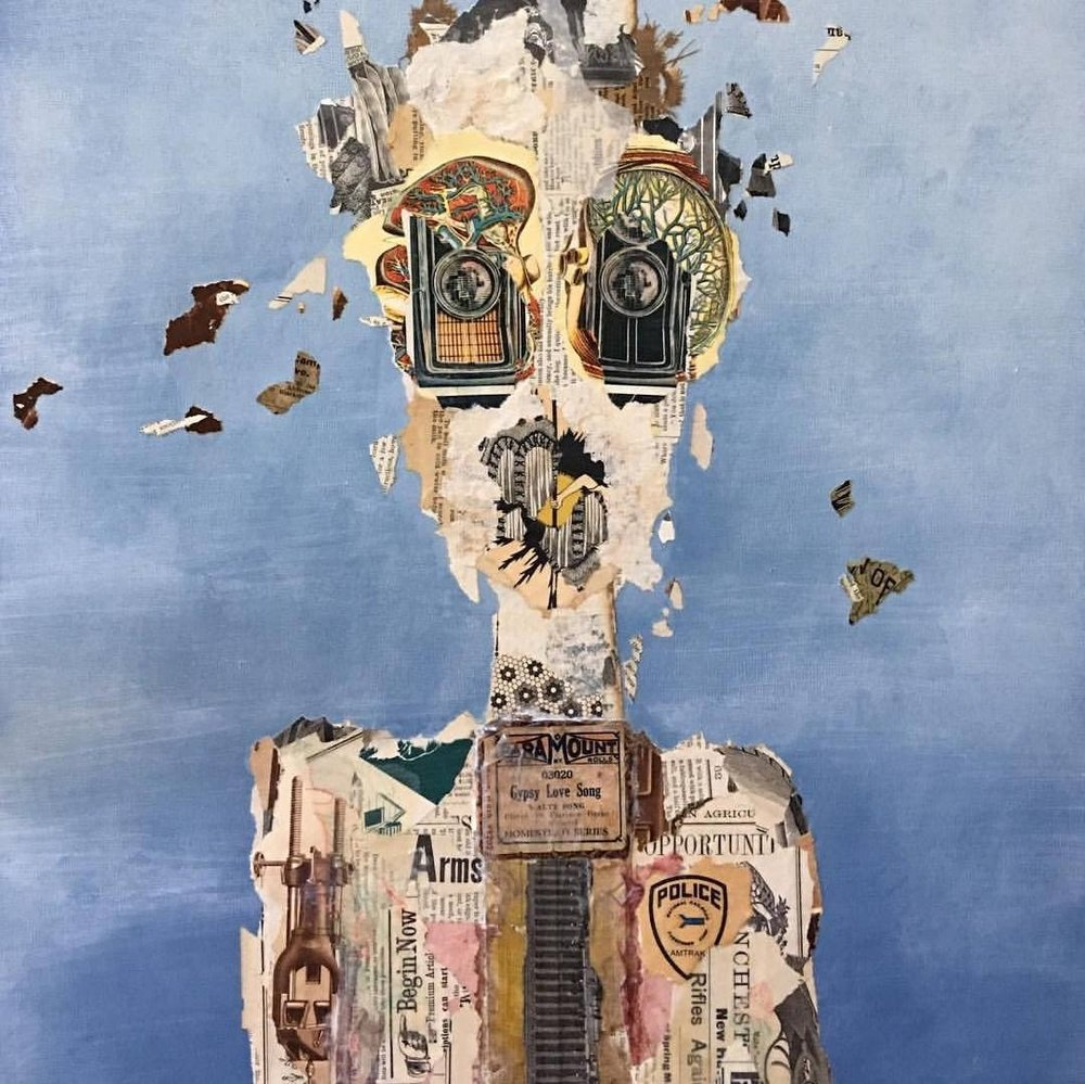 Jason Antaya - mixed media