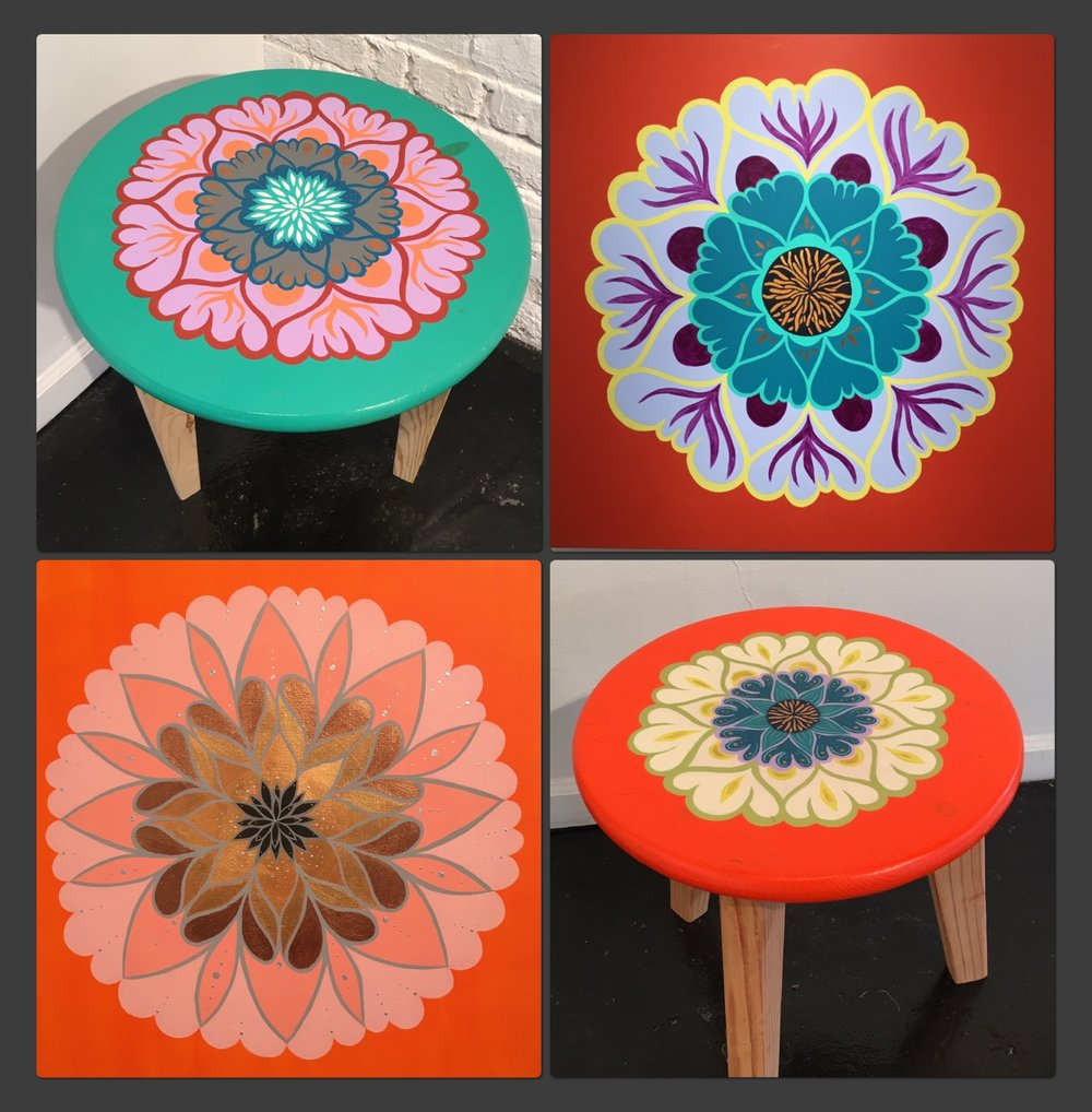 Hand Painted furnishings
