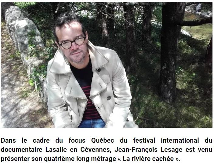 - https://lemouvement.info/2018/05/12/la-riviere-cachee-documentaire-de-jean-francoise-lesage/Anne-Rose Le Van - LE MOVEMENT.INFO