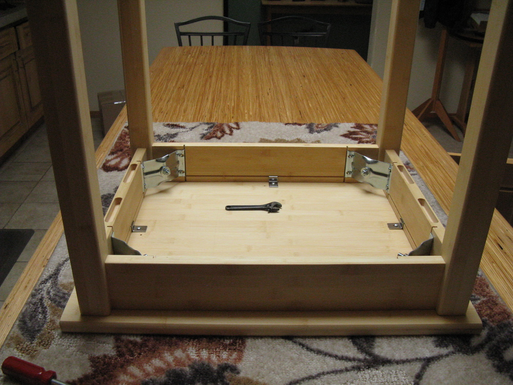 Xtra Bed Option for footboard shown in Maple