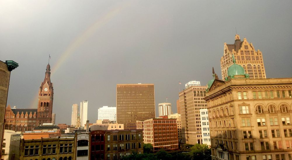 Milwaukee sure makes a rainbow brighter