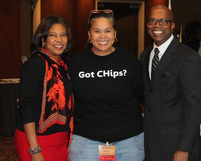 The CHip CHick is joined by Current President & CEO of Milwaukee Urban League/former  African American Chamber of Commerce President Dr. Eve Hall  & Former Common Council President Willie Hines during the 2014 WWBIC annual event. Check this  Business Journal article  out for info on how we got started and more.