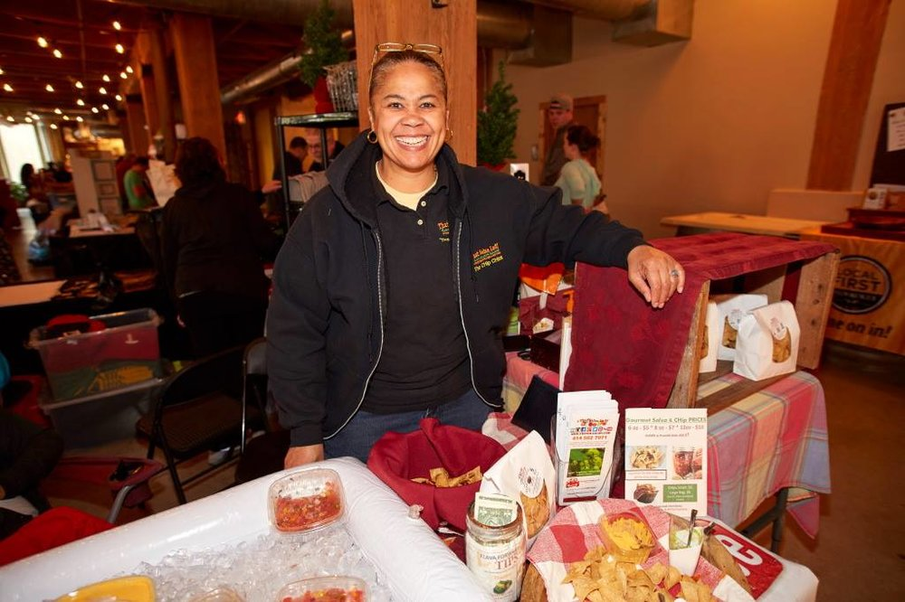 tHE cHIP CHICK AT A LOCAL FIRST EVENT 2016