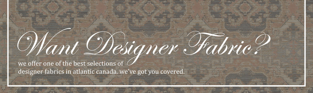 Want Designer Fabric?