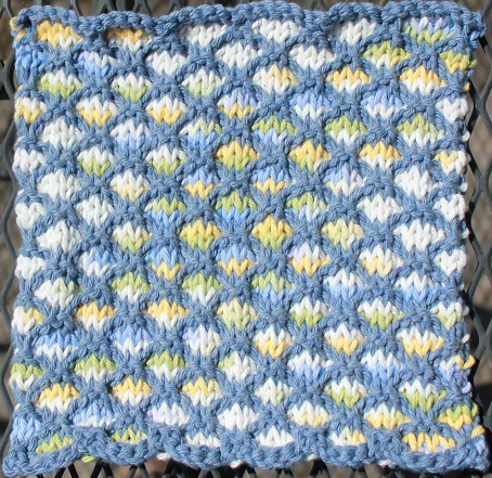 Lovely Lattice Dishcloth