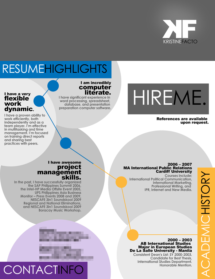 thesis in resume