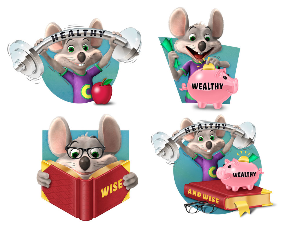 Chuck E. Cheese Is Healthy, Wealthy & Wise