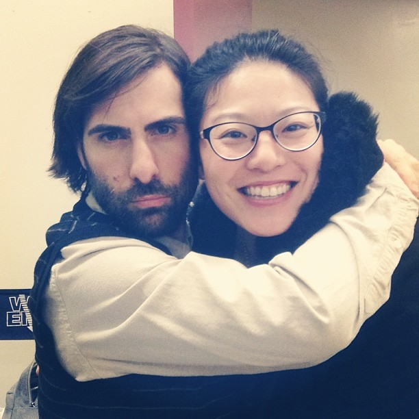 Listen Up Philip - on set with Jason Schwartzman