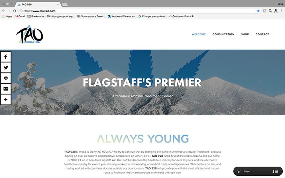 JAW Dropping Designs Always Young Website