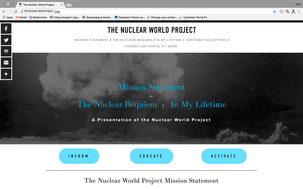 JAW Dropping Designs The Nuclear World Website