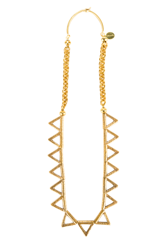 Adra Necklace_Brass_Overall View_