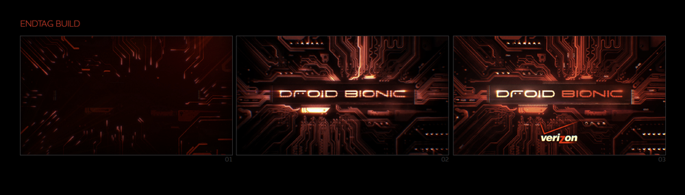 """DROID BIONIC"" STYLE FRAMES"