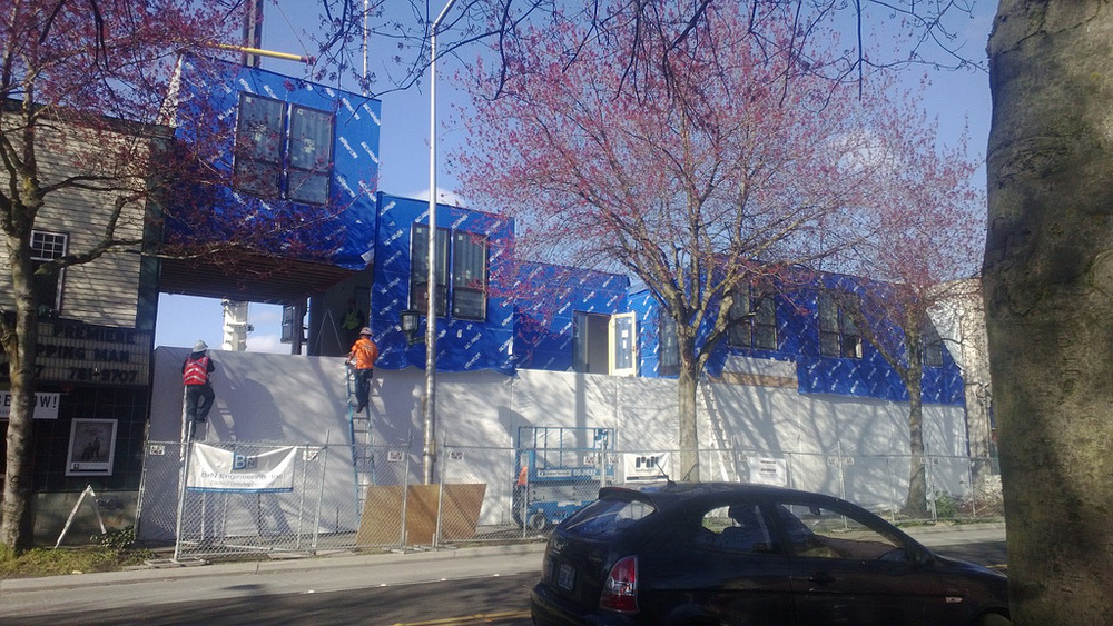 Taproot Theatre Company - The Miller Hull Partnership - Method Homes- under construction 2013