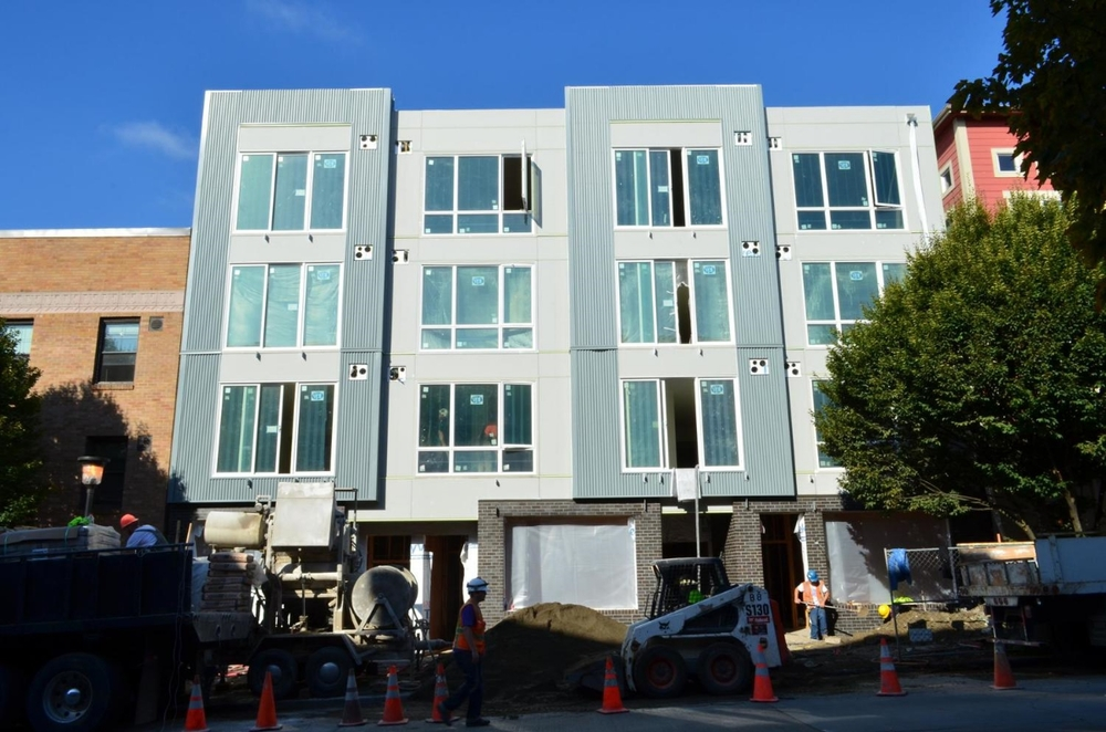 509 1st Ave W Apartments - Studio Meng Strazzara Architects- under construction 2013