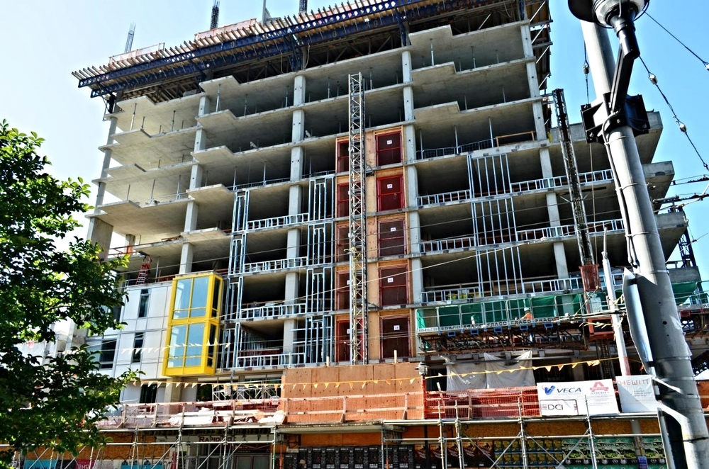 225 Cedar St - Hewitt Architects - under construction 2013