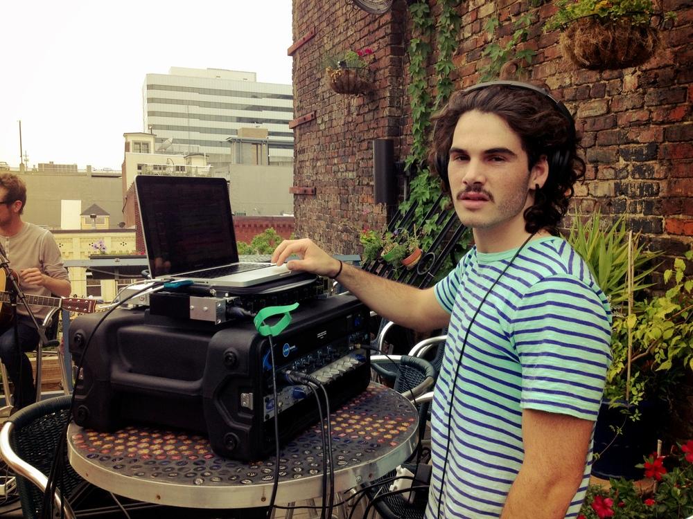 Garrett Sale running sound