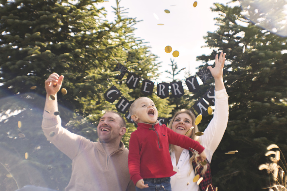 Sneak peak of the Romans Family Christmas Session!