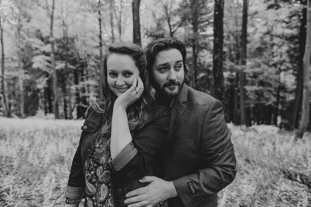 saylorsburg-pennsylvania-engagement-session-photographers-black-and-white-portrait
