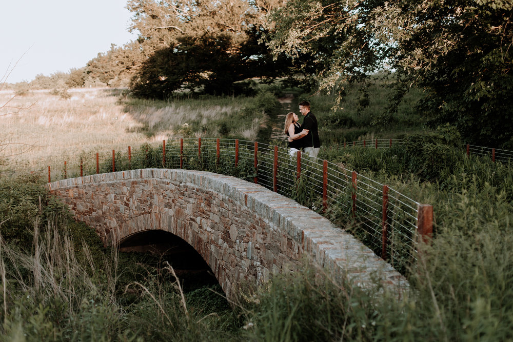 longwood-gardens-bridge-engagement-photography
