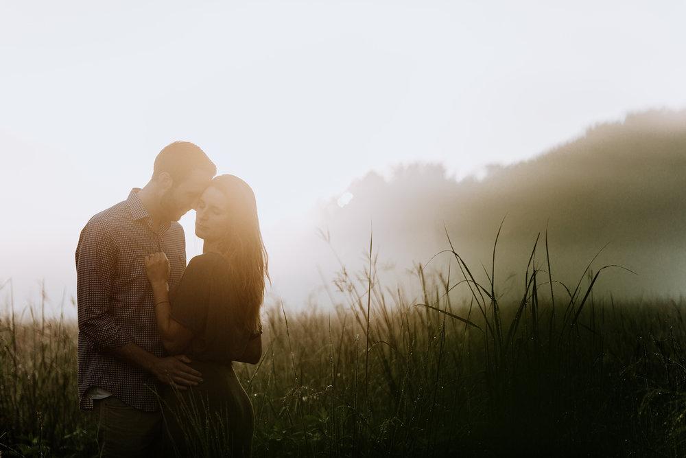 the-laurels-preserve-pa-sunrise-engagement-photography