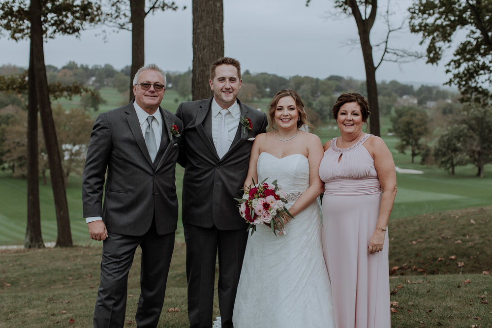 Example of the  Canon EF 50mm 1.2  in use for family formals