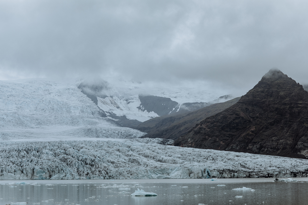 The beautiful glacier region called   Fjallsarlon   is seen in Game of Thrones during some battles with the Whitewalkers!