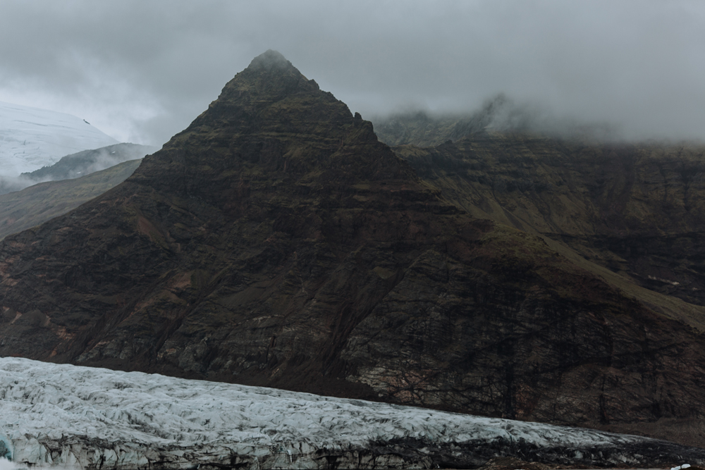 This beautiful triangular mountain peak was seen during some shots of GOT Season 7