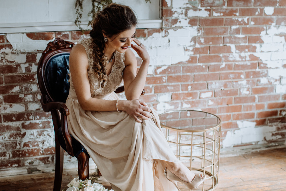 Lehigh  Valley Photography Styled Shoot at Fox and Finch Studio