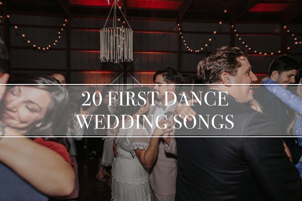 20-first-dance-wedding-songs-2018