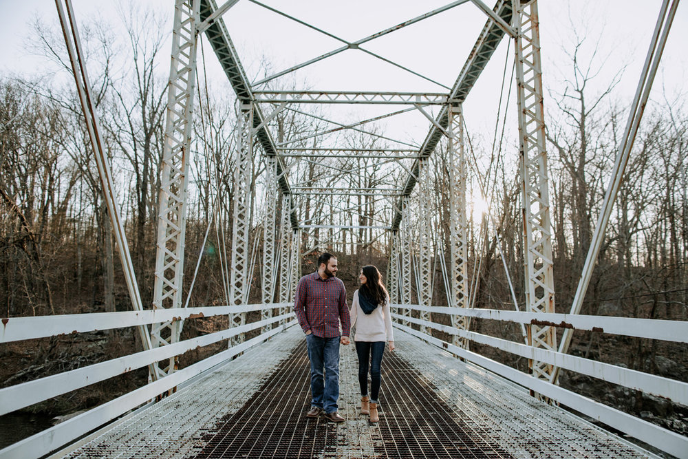 green-lane-park-bridge-lehigh-valley-engagement-photography-2