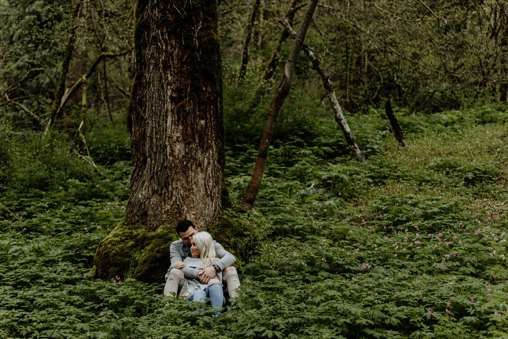 portland-wedding-photography-lataural-falls-lush-forest