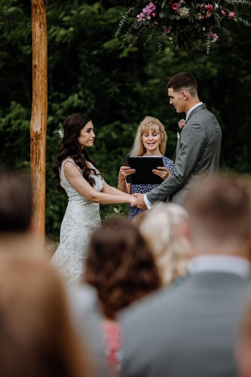 Rebecca Jake Rustic Elegant Barn Swallow Farm Wedding Lehigh