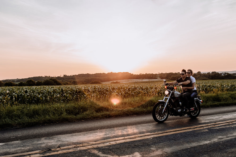 lehigh-valley-engagement-photography-easton-motorcycle