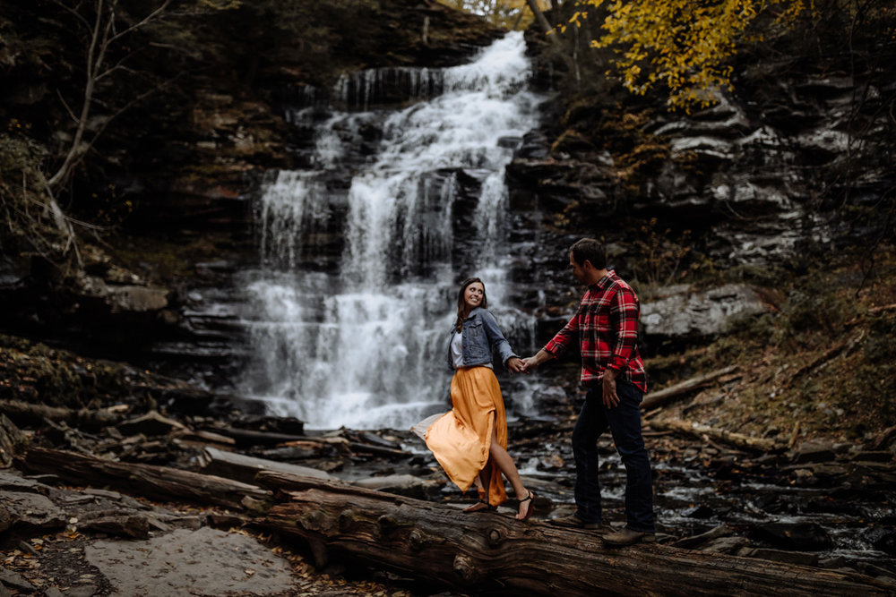 ricketts-glen-engagement-photography-5